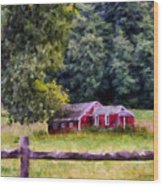 Country Living Wood Print