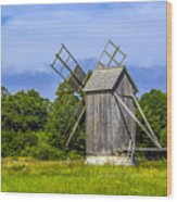 Country Mill Wood Print
