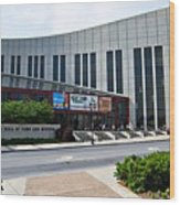 Country Music Hall Of Fame Nashville Wood Print