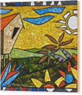 Country Peace Wood Print