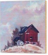 Country Sentinel Wood Print