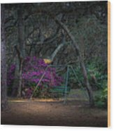 Country Swing Wood Print