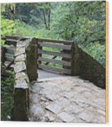 Country Walk Wood Print