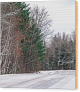Country Winter 9 Wood Print