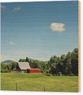 Countrybarn Wood Print