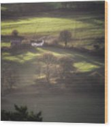 Countryside Dreaming Wood Print