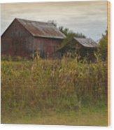 Countryside Wood Print