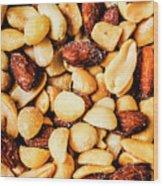 County Kitchen Texture Wood Print
