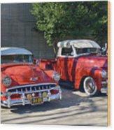 Coupala Chevys Wood Print