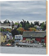 Coupeville Delight Wood Print