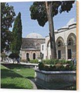 Courtyard Topkapi Palace - Istanbul Wood Print