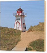 Covehead Harbour Lighthouse 5701 Wood Print