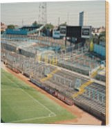 Coventry City - Highfield Road - East Stand Swan Lane 2 - August 1991 Wood Print