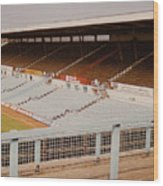 Coventry City - Highfield Road - North Side Thackhall Street Stand 2 - September 1969 Wood Print