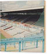 Coventry City - Highfield Road - North Side Thackhall Street Stand 3 - August 1991 Wood Print