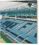 Coventry City - Highfield Road - South Side Main Stand 3 - August 1997 Wood Print