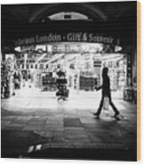 Coventry Street - London, England - Black And White Street Photography Wood Print