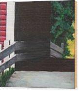 Covered Bridge No.1 Wood Print