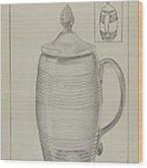 Covered Mug Wood Print
