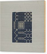 Coverlet (section Of) Wood Print