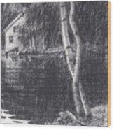 Cove's Edge Wood Print