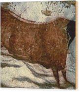 Cow: Lascaux, France Wood Print