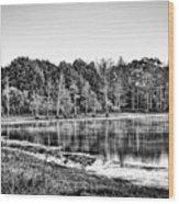 Cow Pen Lake Wood Print