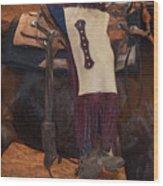 Cowboy Chinks Wood Print