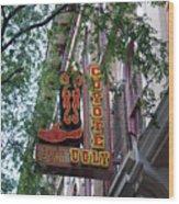Coyote Ugly Saloon Nashville Wood Print