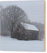 Cozy Cabin Wood Print