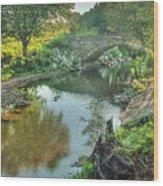 Stewart  Bridge Wood Print
