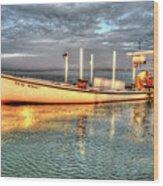 Crabbing Boat Beth Amy - Smith Island, Maryland Wood Print
