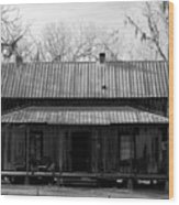 Cracker Cabin Wood Print