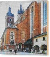 Cracow Art 1  Wood Print