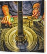 Craftsman Jewelry Maker Wood Print