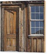 Craftsmanship Wood Print