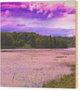 Cranberry Glade Lake Wood Print