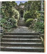 Cranbrook Staircase Wood Print