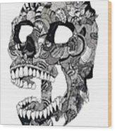 Craneo Wood Print