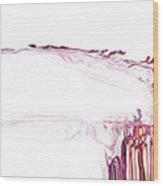 Cranial Splatter Wood Print