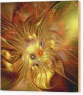 Cranial Supernova Wood Print