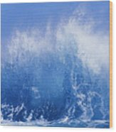 Crashing On Shore Wood Print by Vince Cavataio - Printscapes