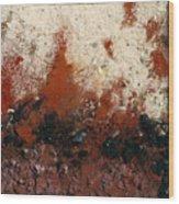 Crater #6 Wood Print