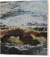Crater Island Wood Print