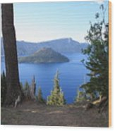 Crater Lake 11 Wood Print