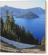 Crater Lake 12 Wood Print
