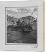 Crater Lake 17 Wood Print