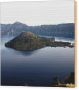 Crater Lake 2 Wood Print