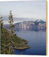 Crater Lake 3 Wood Print