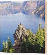 Crater Lake 4 Wood Print